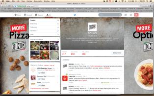 Brand Twitter account
